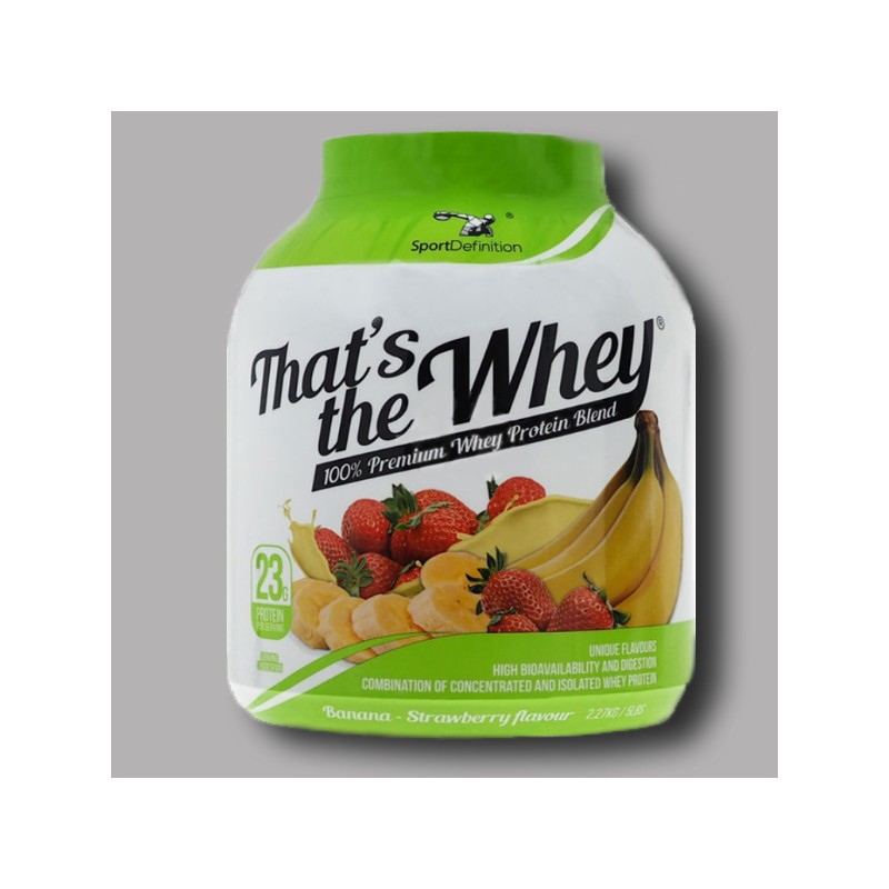 Sport Definition - That's the Whey - 100% Premium Whey ...