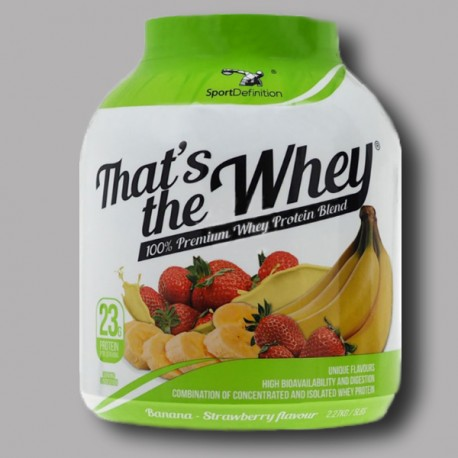 Sport Definition - That's the Whey - 100% Premium Whey Protein Blend - 2270g