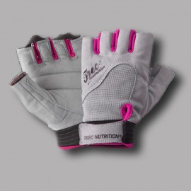 Trec Nutrition - Women's Fitness Gloves - Grey Pink