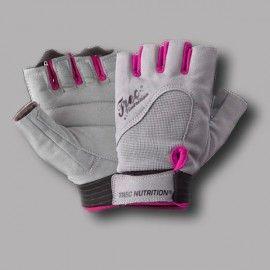 Trec Nutrition - Women's Fitness Gloves - Grey Pink