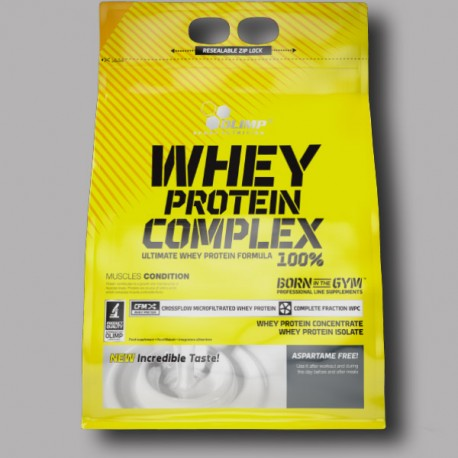 OLIMP WHEY PROTEIN COMPLEX 100% - 2270g - Zip Bag