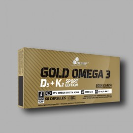 OLIMP - GOLD OMEGA 3 D3 + K2 - 60 CAPS