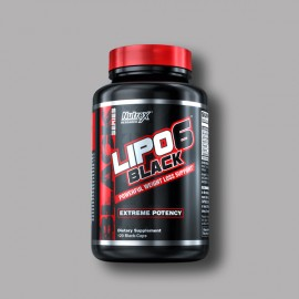 NUTREX - LIPO-6 BLACK - 120 CAPS