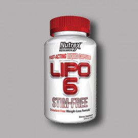 NUTREX  - LIPO 6 FAST ACTING 120CAPS