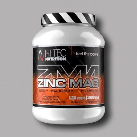 HI TEC - ZincMag - 120caps