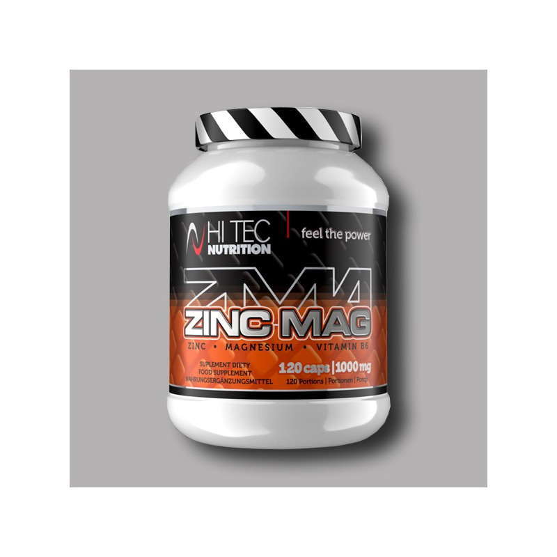 wyprzedaż w sprzedaży Cena fabryczna super jakość Buy HI TEC - ZincMag - 120caps in Protein Store