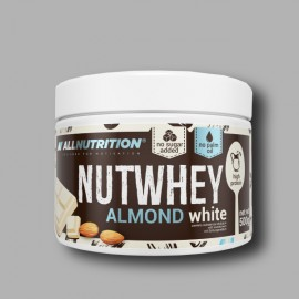 ALLNUTRITION - NUTWHEY ALMOND WHITE - 500G